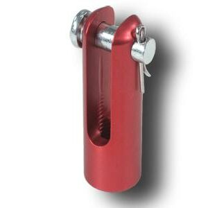 CNC 1457R RED CLEVIS & PIN