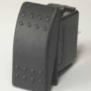 K4 14-502 BLACK ON-OFF-ON ROCKER SWITCH