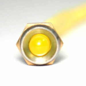 K4 17-102 LED CHROME BEZEL AMBER 12V