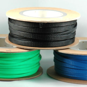 K4 30-252RD RED BRAIDED SLEEVE 3/8 (60')