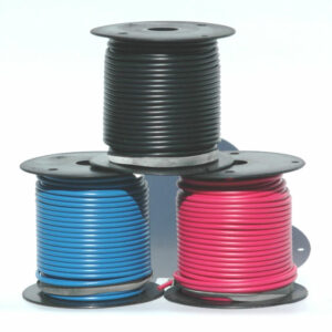 K4 40-230-100 100' 14 GAUGE BLACK WIRE