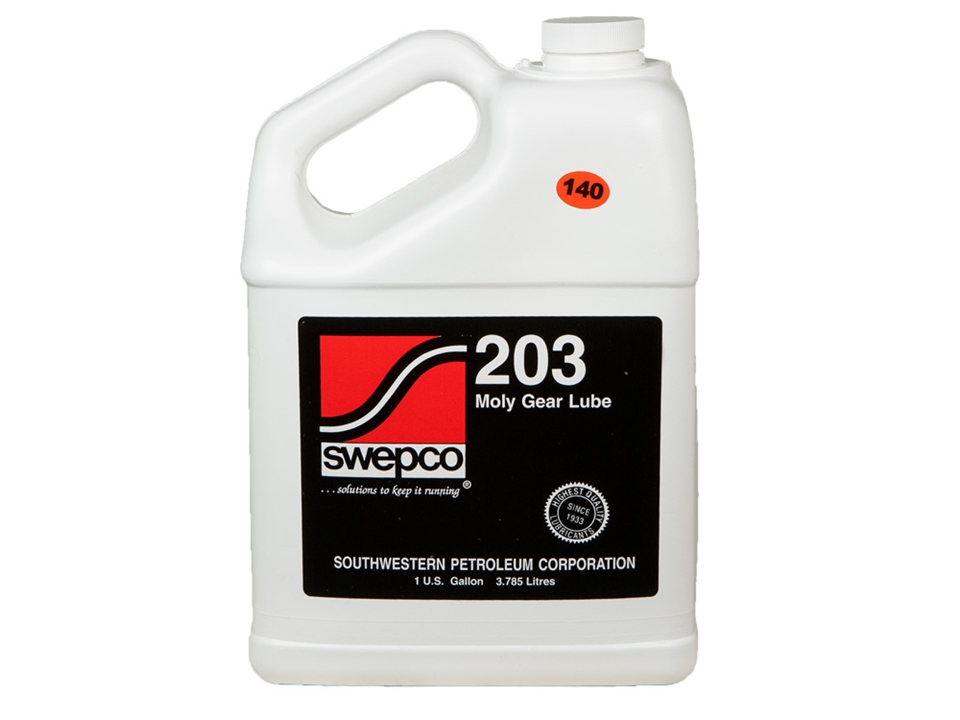 140 Wt Gear Oil Gallon Swepco203 140
